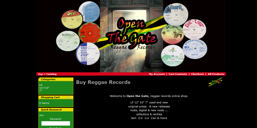 openthegatereggaerecords.com