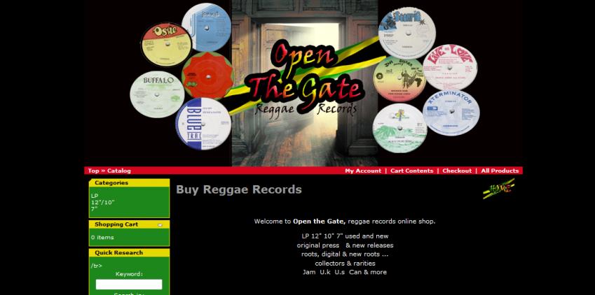 openthegatereggaerecords.com